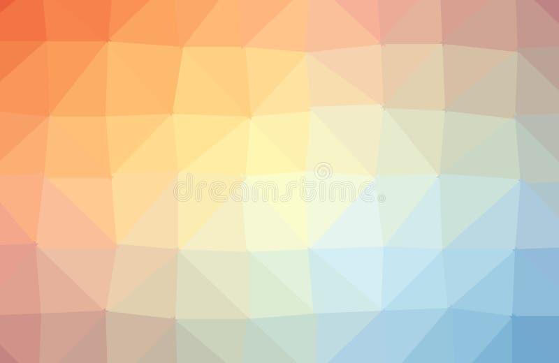 Geometrisk bakgrund f?r abstrakt f?rgrik polygon Låg Poly stil, mallar för affärsdesign Vektor och illustration royaltyfri illustrationer