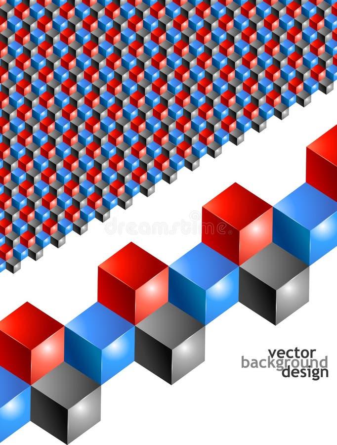 Geometrisk design för vektorbakgrundsabstrakt begrepp vektor illustrationer