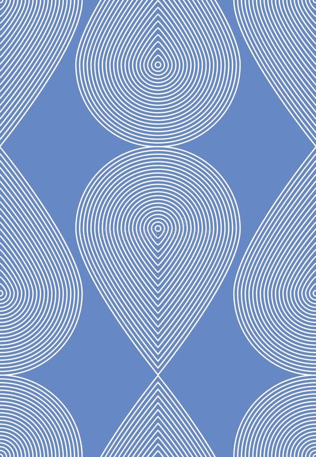 Geometrisk färgrik strimmig sömlös modell, ljus abstra vektor illustrationer