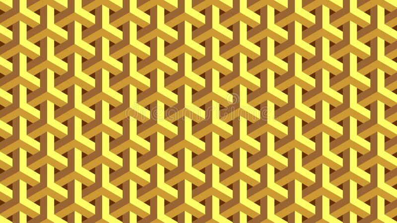 Geometrisk gripa in i varandra för trycklogo för cirklar grafisk modell royaltyfri illustrationer