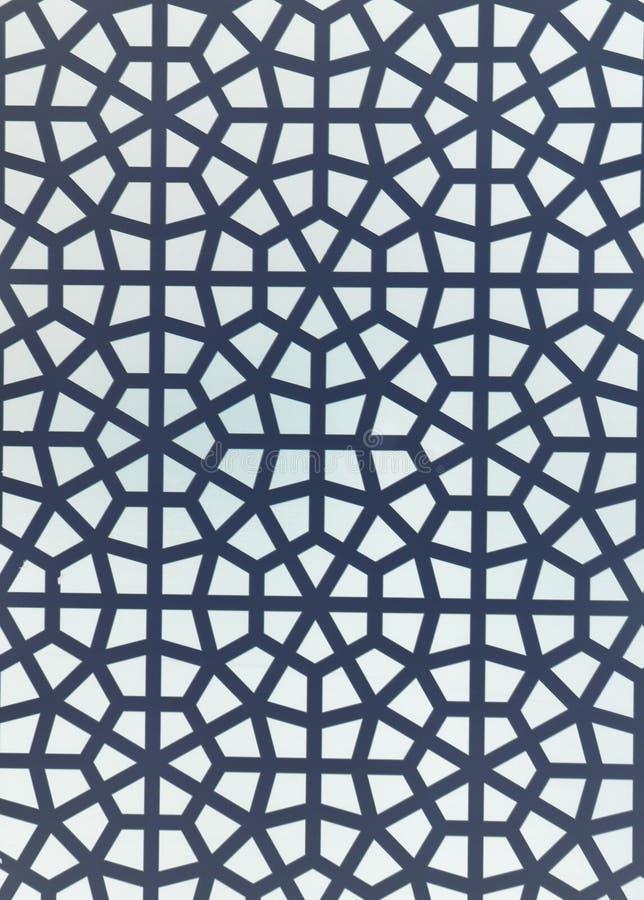geometrisk islamisk modell fotografering för bildbyråer