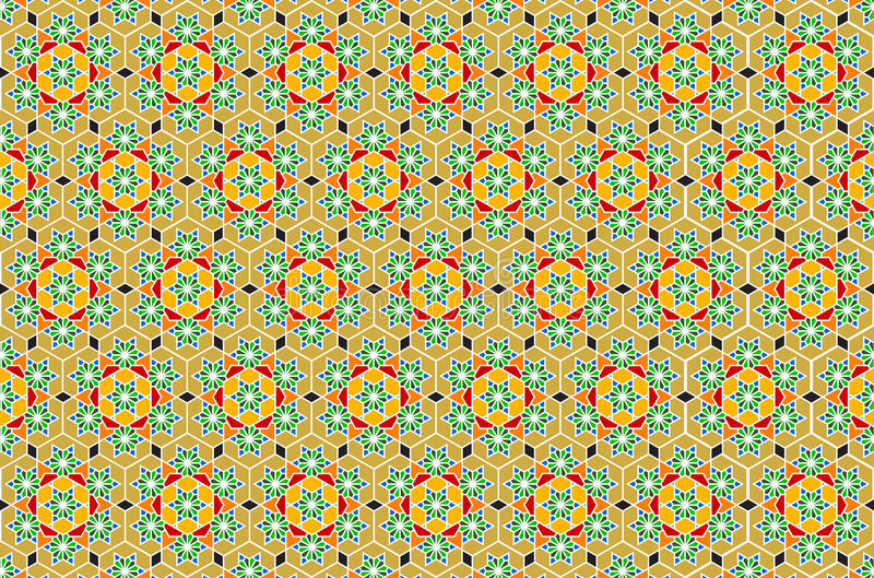 geometrisk islamisk vektor för konst royaltyfri foto