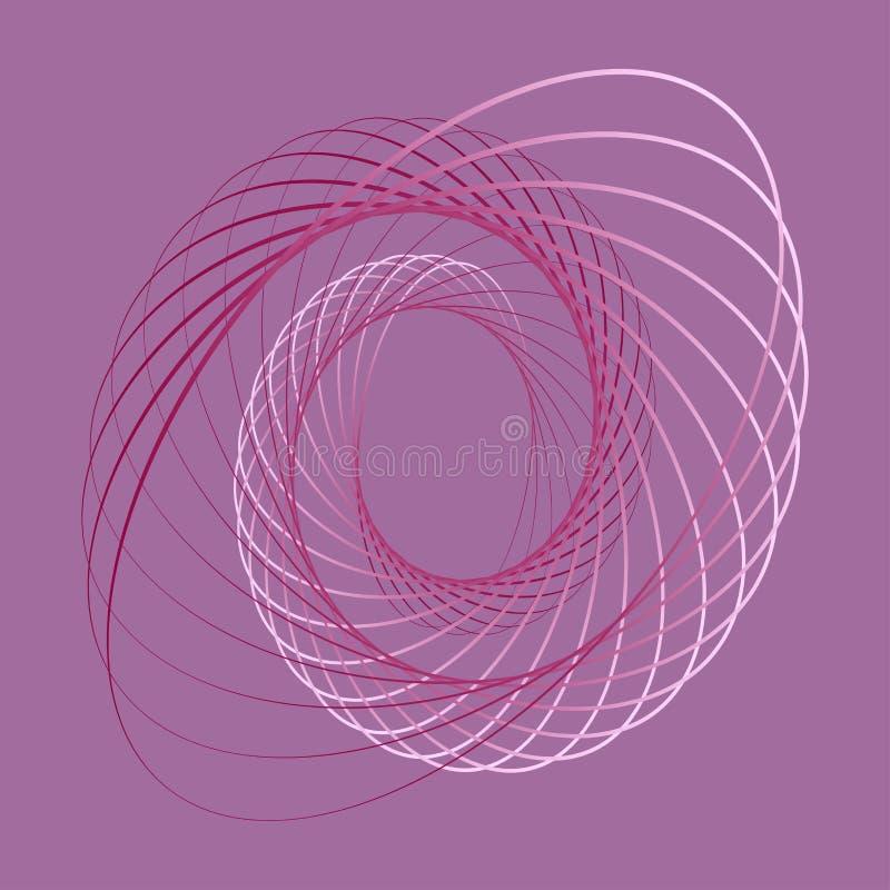Geometrisk linjär konst, bakgrund stock illustrationer