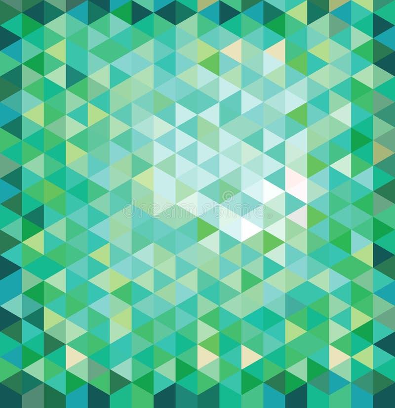 Geometrisk mångfärgad bakgrund royaltyfri illustrationer