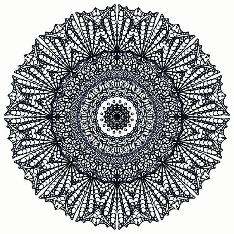 geometrisk mandala arkivfoto