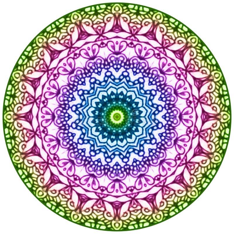 geometrisk mandala arkivbilder