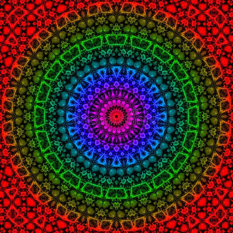 geometrisk maya för fantasi royaltyfri illustrationer