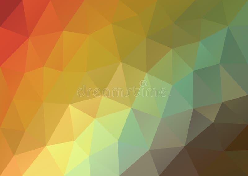 Geometrisk modell för pastellfärgad färg vektor illustrationer