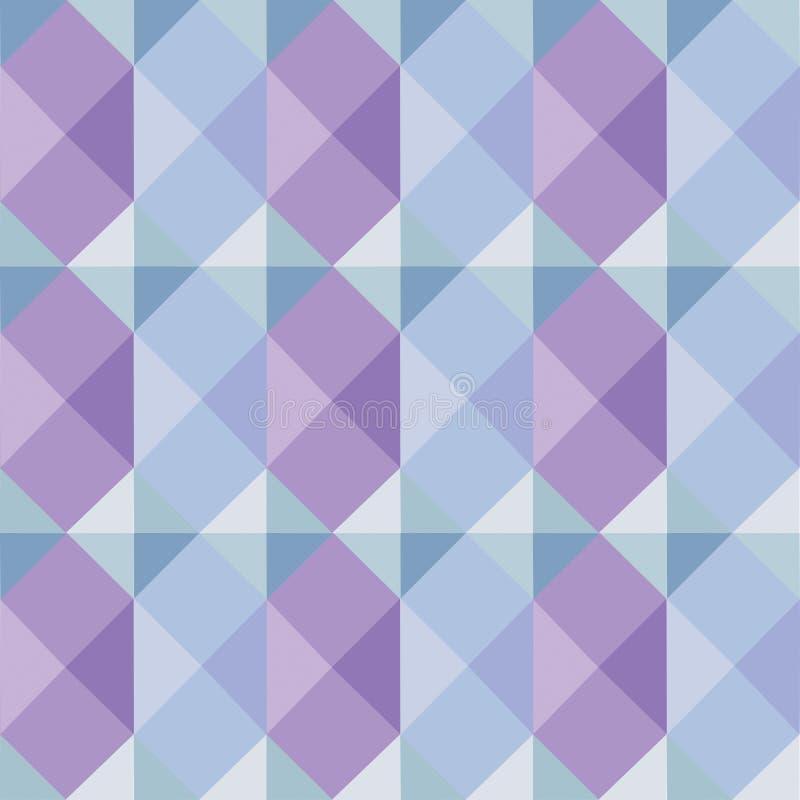 Geometrisk modell i mjuka färger arkivfoton