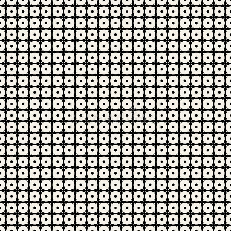 Geometrisk modell i repetition Tygtryck Sömlös bakgrund, mosaikprydnad, etnisk stil stock illustrationer