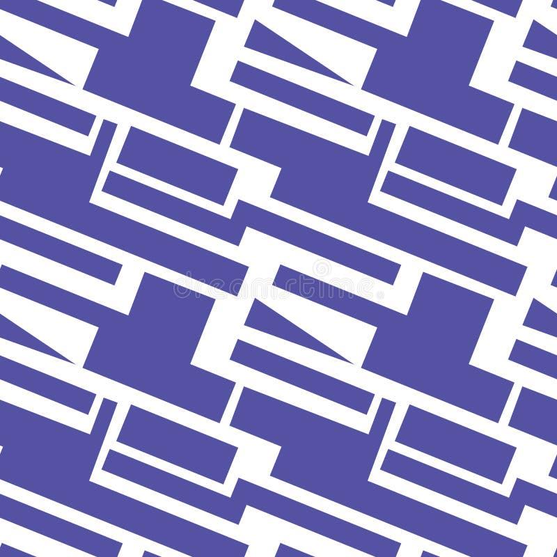 Geometrisk modell på den genomskinliga bakgrunden royaltyfri illustrationer