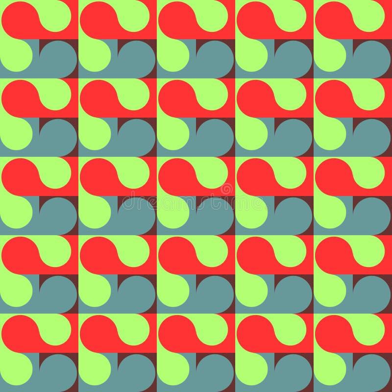 geometrisk modell seamless abstrakt modell Den geometriska modellen för textiler som förpackar, tapetserar fotografering för bildbyråer