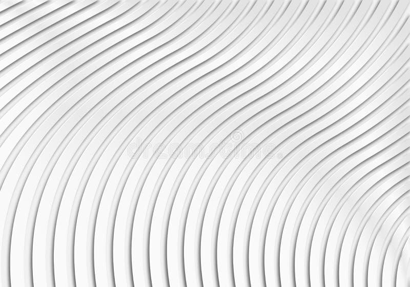 Geometrisk modellbakgrund för vitbok royaltyfri illustrationer