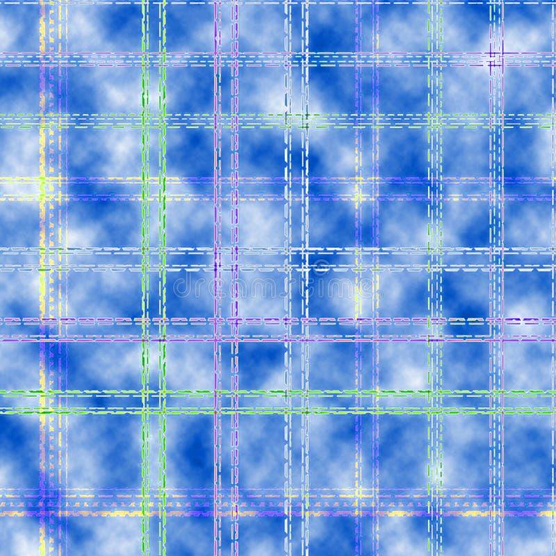 Geometrisk och rutig bakgrund arkivbild