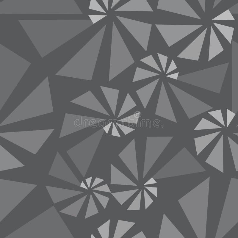 Geometrisk sömlös modell 3d vektor illustrationer