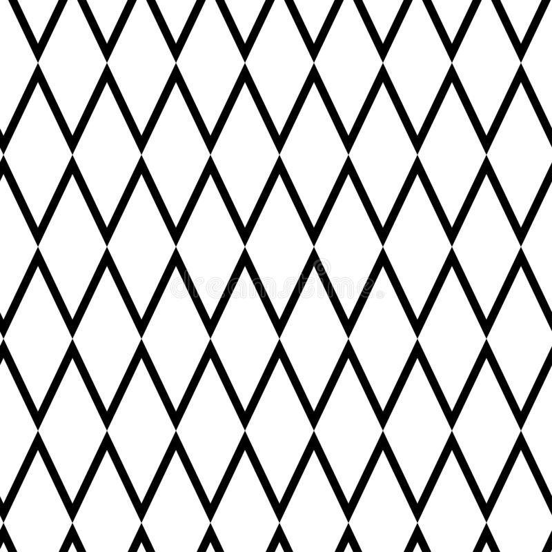 Geometrisk sömlös modell med romben också vektor för coreldrawillustration vektor illustrationer