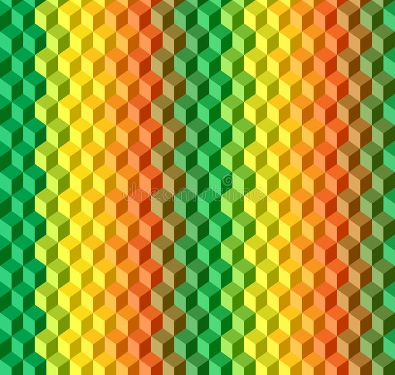 Geometrisk sömlös texturvektormodell royaltyfri illustrationer