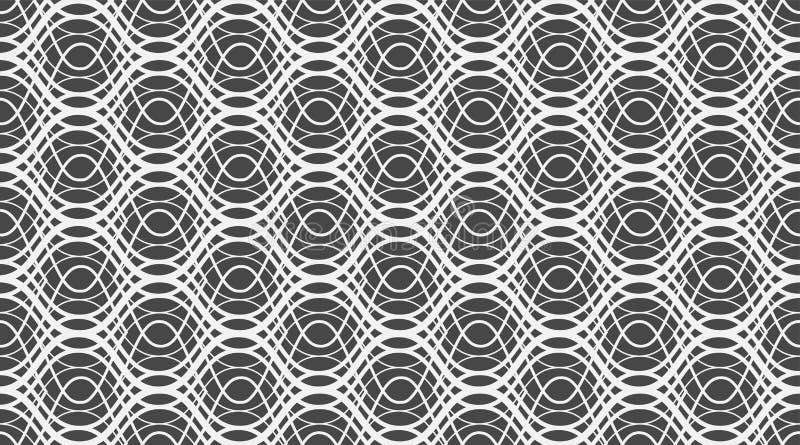 Geometrisk s?ml?s modell Delikat h?rlig prydnad Geometriskt modetygtryck nSeamless vektormodell arkivbilder