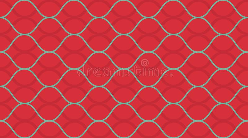 Geometrisk s?ml?s modell Delikat h?rlig prydnad Geometriskt modetygtryck seamless vektor f?r modell royaltyfri fotografi