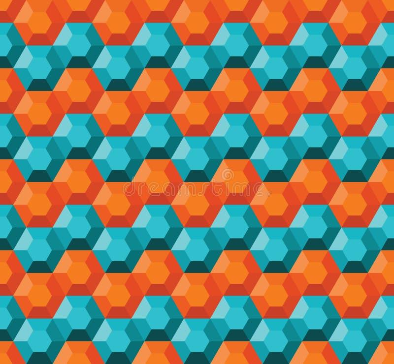 Download Geometrisk seamless modell vektor illustrationer. Illustration av element - 27284731