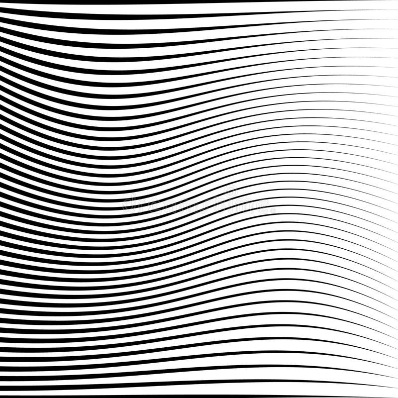 Geometrisk svartvit textur Ingrepp rastermodell av linjer vektor illustrationer