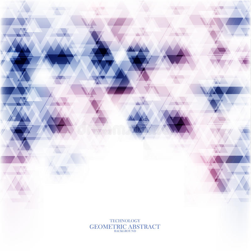 Geometrisk teknologisk färgrik abstrakt bakgrundsvektor stock illustrationer