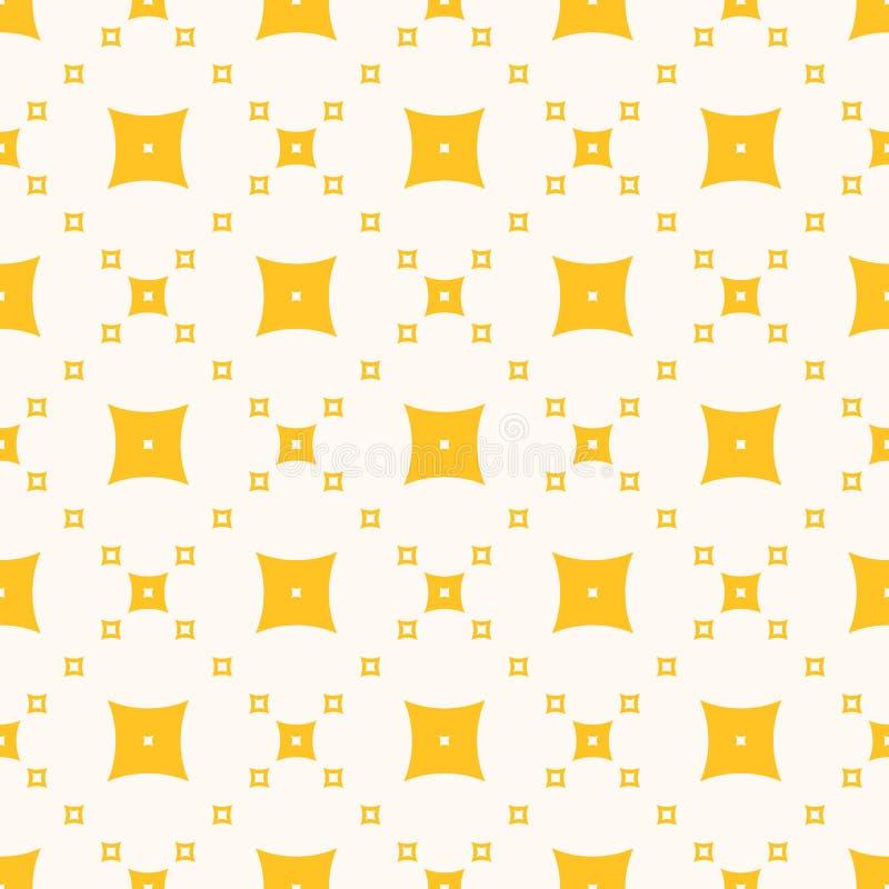Geometrisk textur för gul vektor Skraj minsta färgrik bakgrund vektor illustrationer