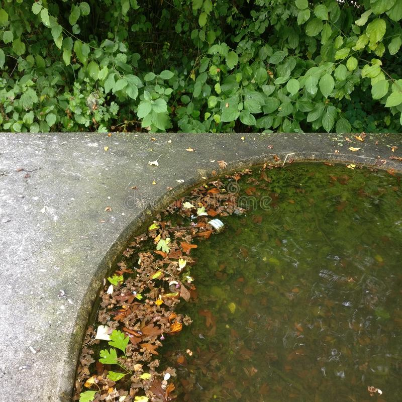 Geometriska Fontaine arkivfoton
