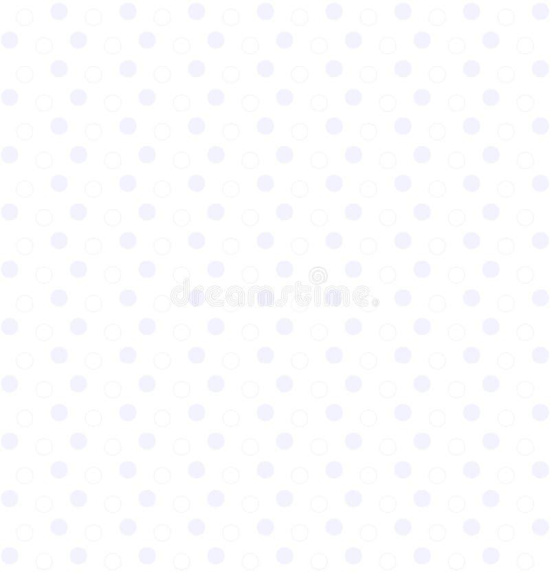 Geometriska former f?r cirkel seamless vektor f?r modell enkel vit upprepande bakgrund textilm?larf?rg Tygprovkarta inpackning f? stock illustrationer