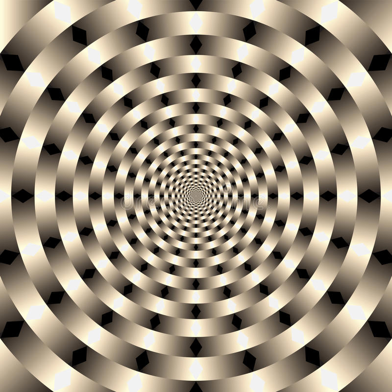 geometriska illusioner för bakgrund vektor illustrationer