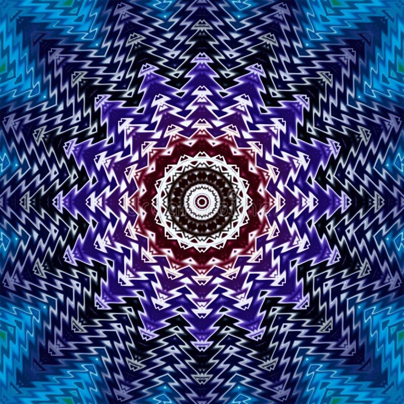 Geometriskt abstrakt begrepp f?r modelltegelplattatextur illustrationtryck stock illustrationer