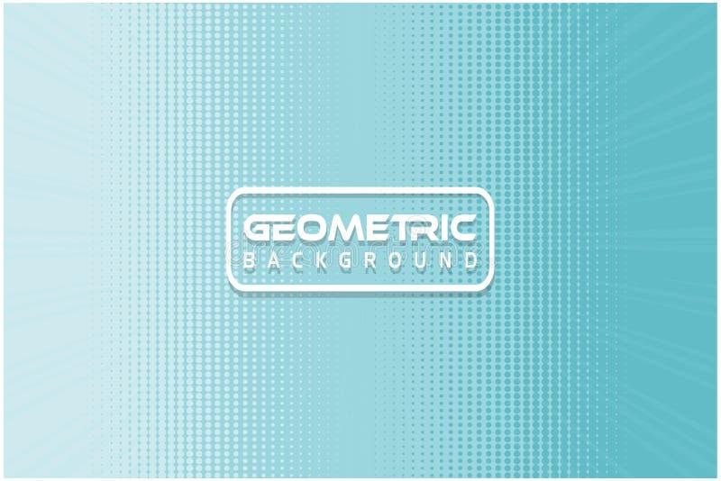 Geometriskt bakgrundsljus - för texturbakgrund för blå färg combo materiel stock illustrationer