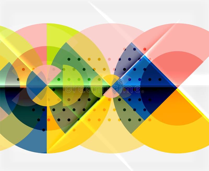 Download Geometriskt Cirkelabstrakt Begreppbaner Vektor Illustrationer - Illustration av modernt, isolerat: 106825911