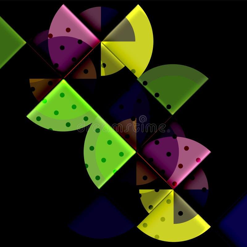 Download Geometriskt Cirkelabstrakt Begreppbaner Vektor Illustrationer - Illustration av idérikt, diagram: 106825930