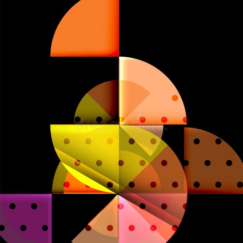Download Geometriskt Cirkelabstrakt Begreppbaner Vektor Illustrationer - Illustration av diagram, digitalt: 106825970