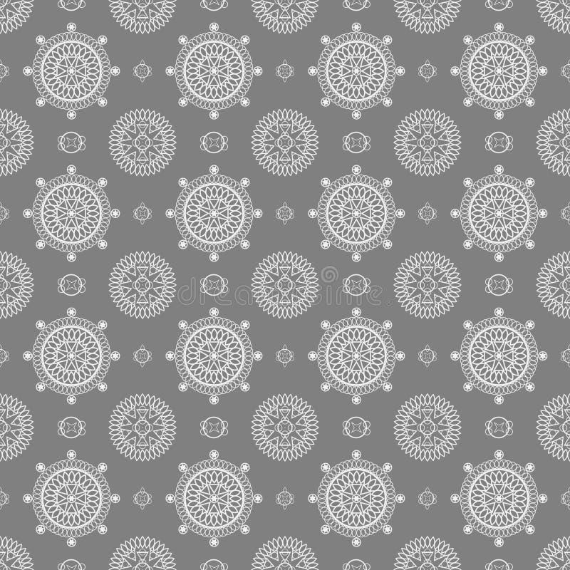 Geometriskt sömlöst. arkivbild