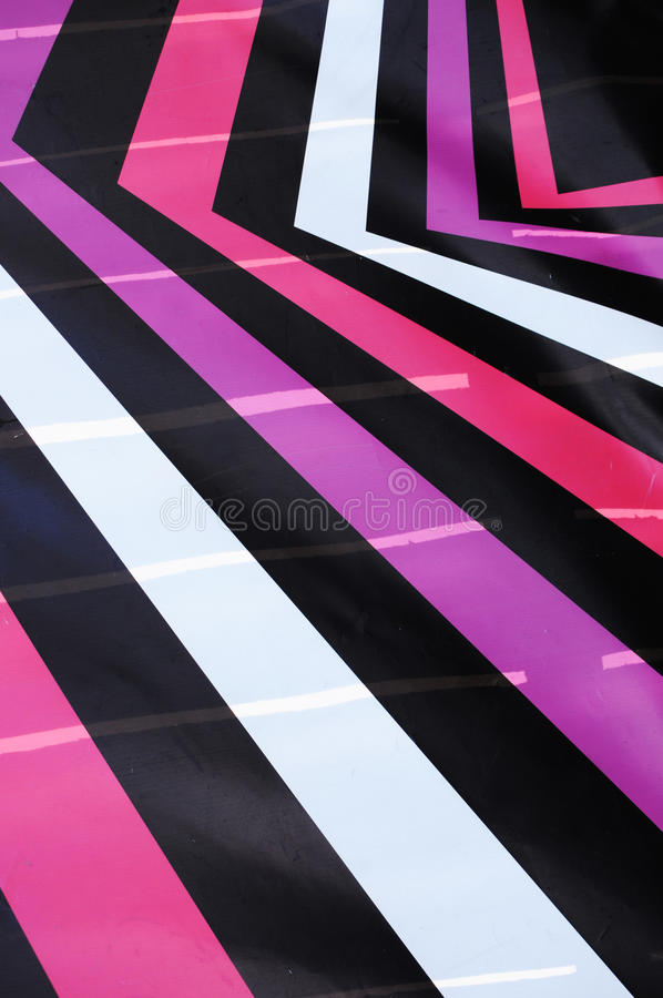 Geometry. Abstract colorful lines of a wallpaper stock photography