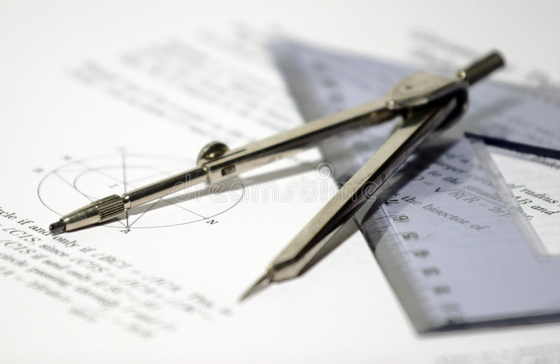 Download Geometry stock image. Image of ruler, over, papers, accurate - 469181
