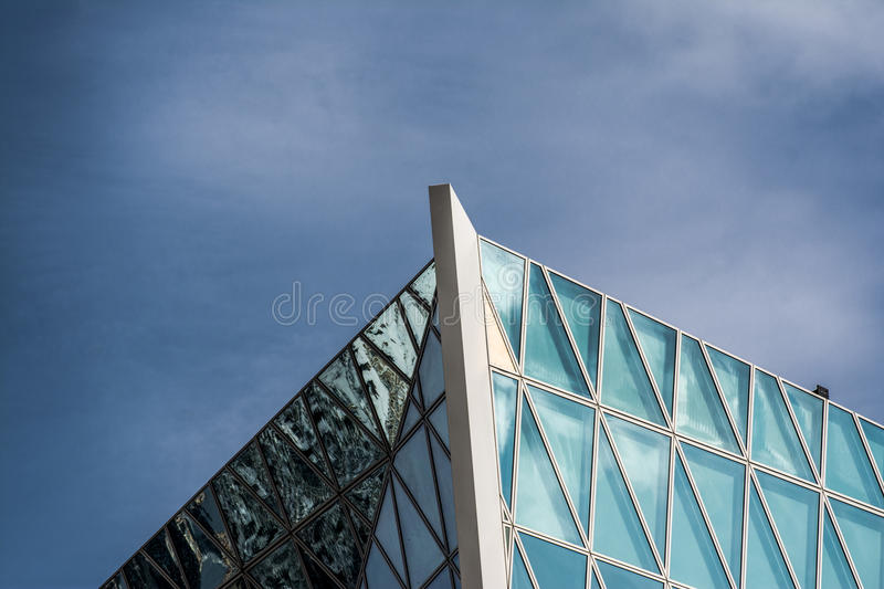 Geometry and Archtecture royalty free stock photos