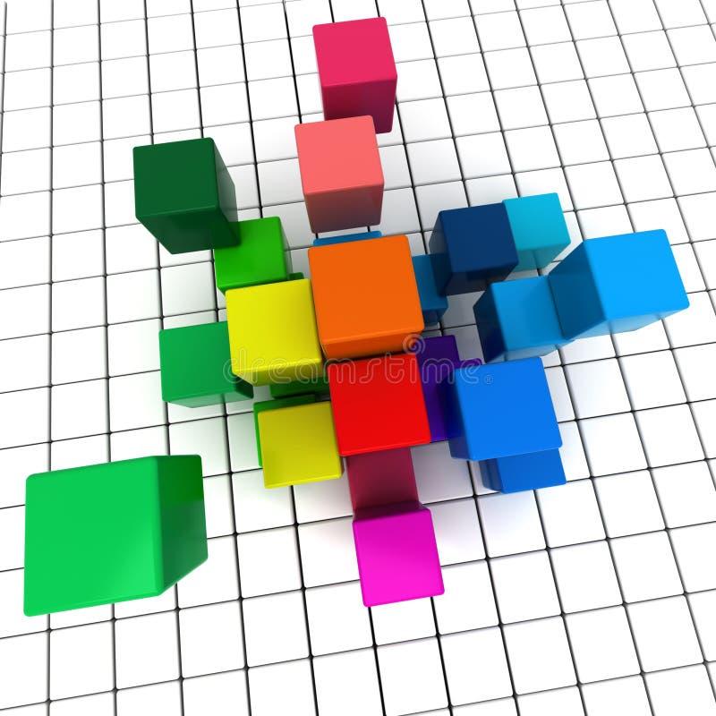 Download Geometry background stock illustration. Image of shape - 16063394