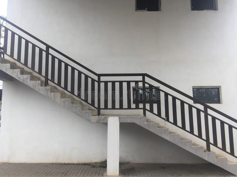 Staircase - structure royalty free stock photos