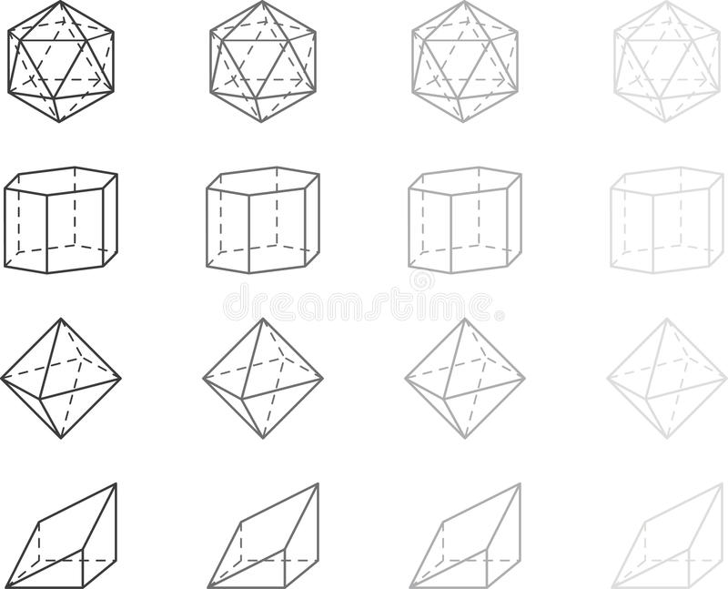 Geometry Figures Royalty Free Stock Image