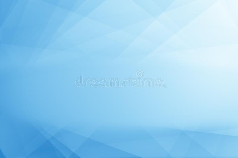Geometry Line Abstract arts Shading and gradient light color blu vector illustration