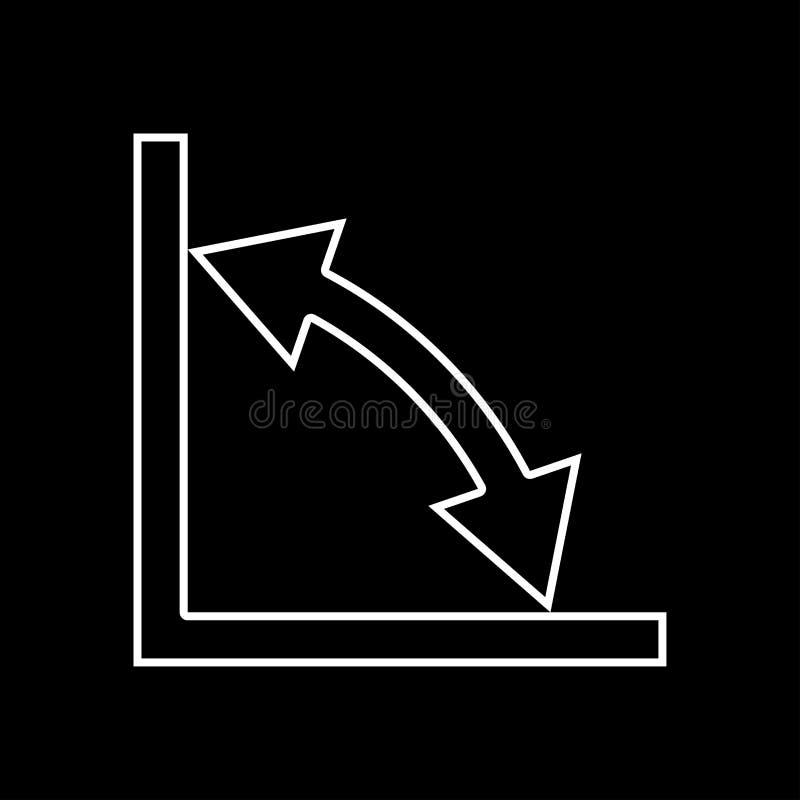 Geometry math signs symbols grey set icon . vector illustration