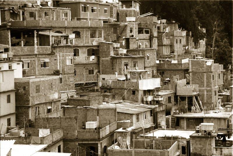 Download Geometry of Rio Favelas stock photo. Image of brazilian - 5116070