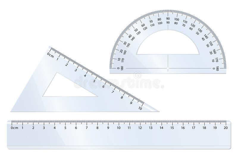 Download Geometry Set stock vector. Image of geometry, protractor - 10301962