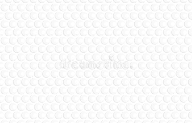 Geometry white bubbles graphic pattern . stock photo