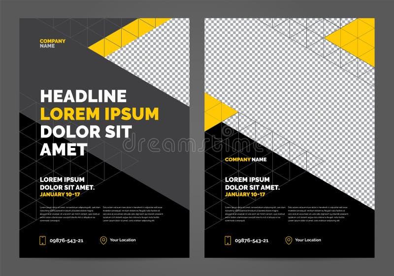 Brochure Layout template design vector illustration