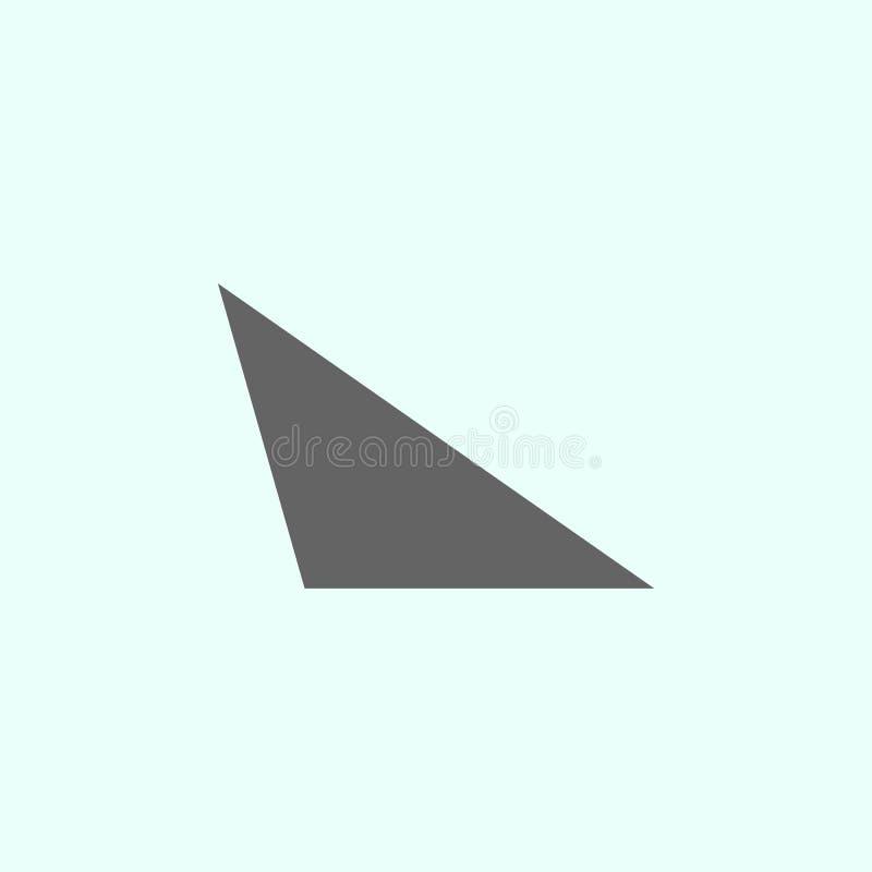 Geometryczne postacie, r??noboczna ikona Elementy geometryczna postaci ilustracji ikona Znaki i symbole mog? u?ywa? dla sieci, lo ilustracja wektor