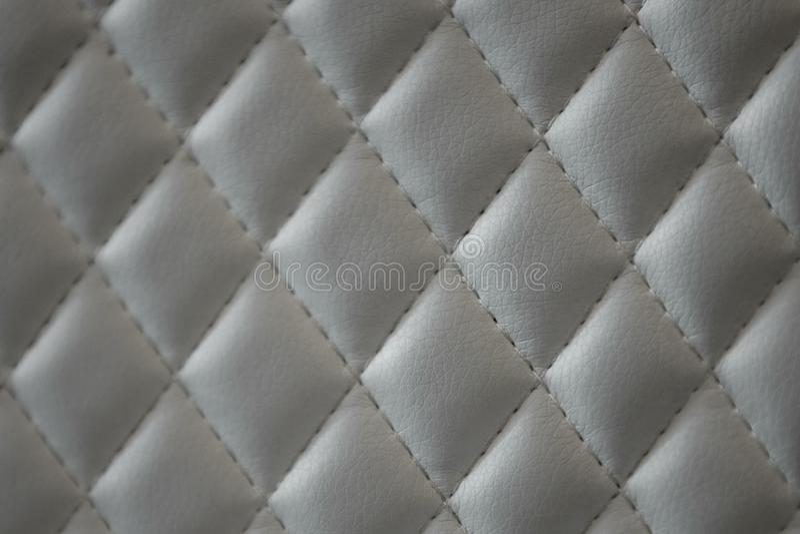 Geometrycznego diamentu wzoru PU waciana sk?ra zdjęcia royalty free
